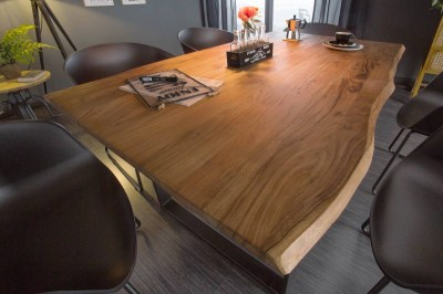 Stílusos étkezőasztal Massive 180 cm vad akácia