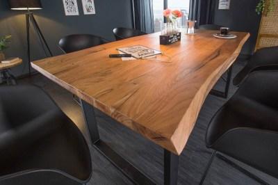Stílusos étkezőasztal Massive 200 cm vad akácia