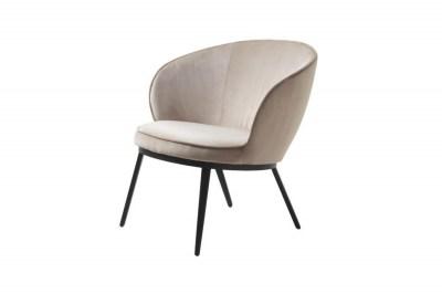Stílusos fotel Danika taupe - bársony