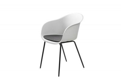 Stílusos fotel Elisabeth fehér