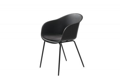 Stílusos fotel Elisabeth fekete
