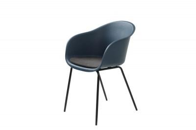 Stílusos fotel Elisabeth sötétkék