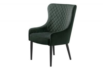 Stílusos fotel Hallie zöld bársony