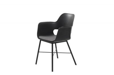 Stílusos fotel Jeffery fekete