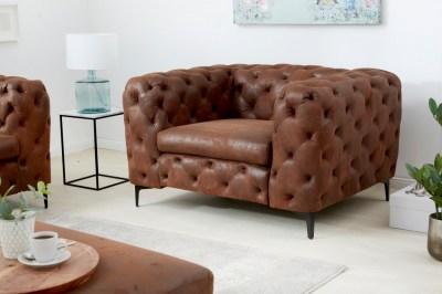 Stílusos fotel Rococo antik barna