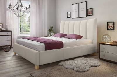 Stílusos franciaágy Amara 180 x 200 - 7 színes változat