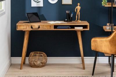 Stílusos íróasztal Nostalgic 120 cm mangó