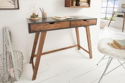 Stílusos konzolasztal Sweden 100 cm szürke