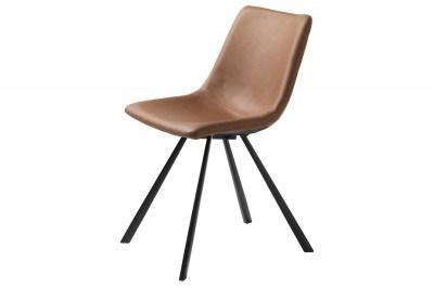 Stílusos szék Claudia világosbarna