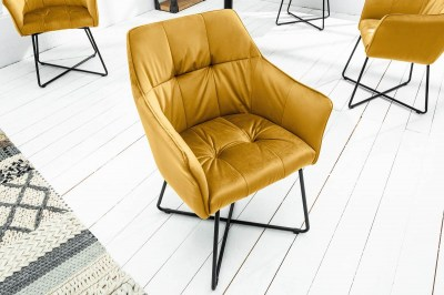 Stílusos szék Giuliana mustár
