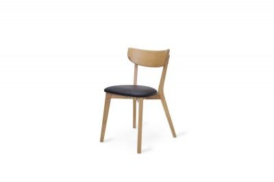 Stílusos szék Kian natúr - fekete