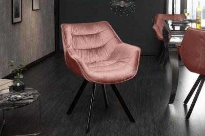 Stílusos szék Kiara rózsaszín