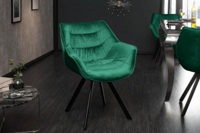 Stílusos szék Kiara zöld