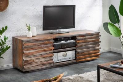 Stílusos TV asztal Lorenzo 150 cm füstös sheesham