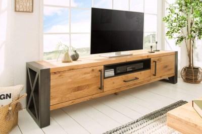 Stílusos TV asztal Thunder 200 cm vad tölgy