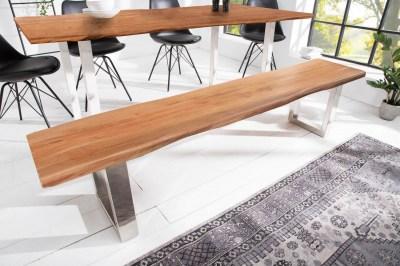 Stílusos ülőpad Massive Honey 200 cm akácia