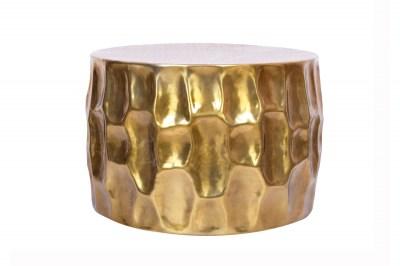Stílusos dohányzóasztal Alijah 55 cm aranyszínű