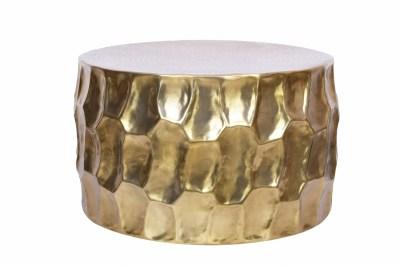 Stílusos dohányzóasztal Alijah 70 cm aranyszínű