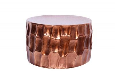 Stílusos dohányzóasztal Alijah 70 cm rézszínű
