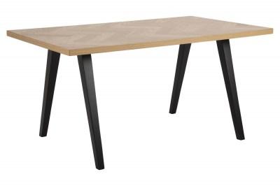 Stílusos étkezőasztal Cristopher 150 cm tölgy minta