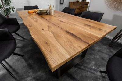 Stílusos étkezőasztal Fringe 160 cm vad tölgy