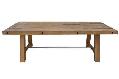 Stílusos étkezőasztal Harlow 240 cm natúr fenyő