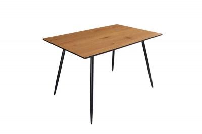 Stílusos étkezőasztal Nathalie 120 cm tölgy