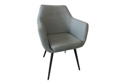 Stílusos fotel Almond szürke műbőr