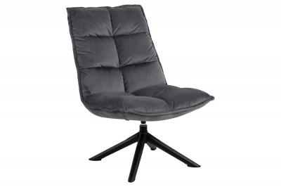 Stílusos fotel Lylah sötétszürke