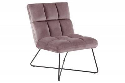 Stílusos fotel Rosa rózsaszín