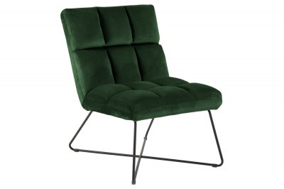 Stílusos fotel Rosa zöld
