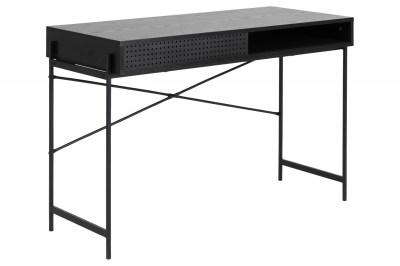 Stílusos íróasztal Naarah 110 cm fekete