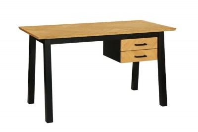 Stílusos íróasztal Nazy 130 cm tölgy minta