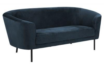 Stílusos kanapé Nilla sötétkék 200 cm
