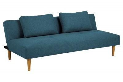 Stílusos kanapéágy Amya 180 cm petrol zöld - tölgy