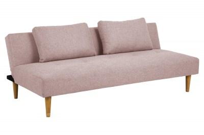 Stílusos kanapéágy Amya 180 cm rózsaszín - tölgy