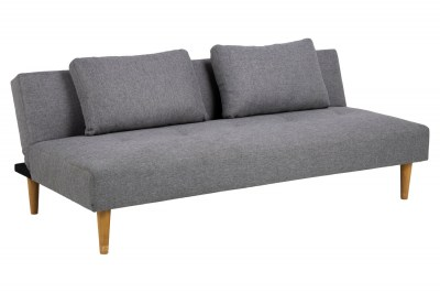 Stílusos kanapéágy Amya 180 cm szürke - tölgy