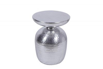 Stílusos oldalsó asztal Malia 36 cm ezüst