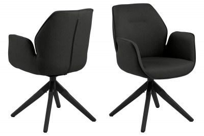 Stílusos szék Ariella fekete