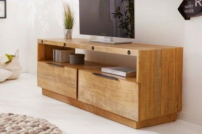 Stílusos TV asztal Harlow 150 cm natúrszínű fenyő