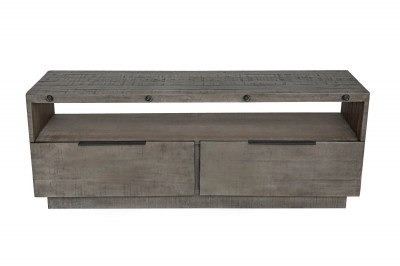 Stílusos TV asztal Harlow 150 cm szürkeszínű fenyő