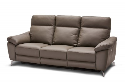 Stílusos 3-személyes kanapé Abeeku - szürke
