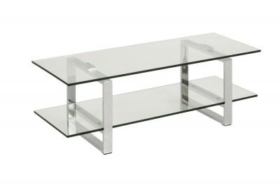 Stílusos TV asztal Akamu - krómozott