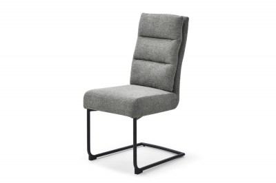 Szánkótalpas szék Frank szürke