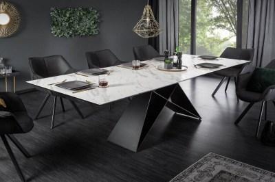Széthúzható étkezőasztal Brock márvány 180-260 cm